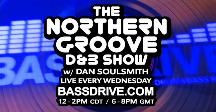 Logo for the Internet show The Northern Groove