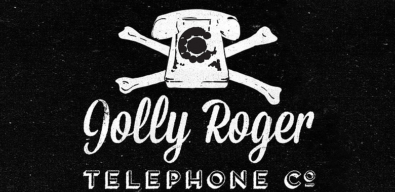 Logo of the Jolly Roger Telephone Co.
