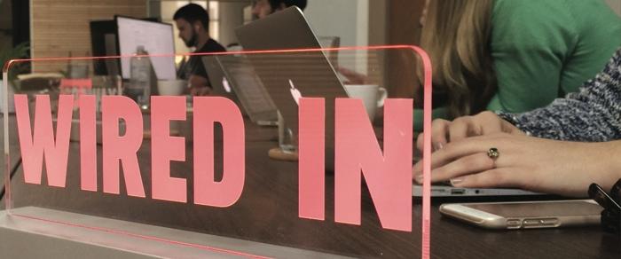 Promo photo of the WiredIn Kickstarter campaign