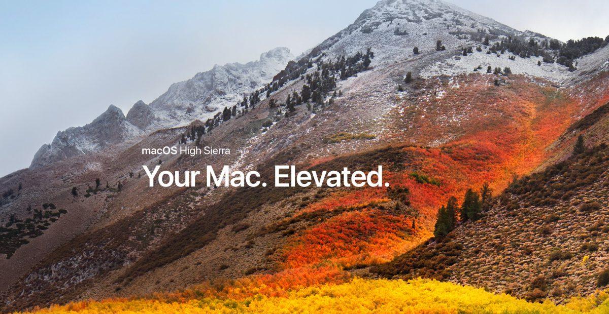 macOS High Sierra Promo